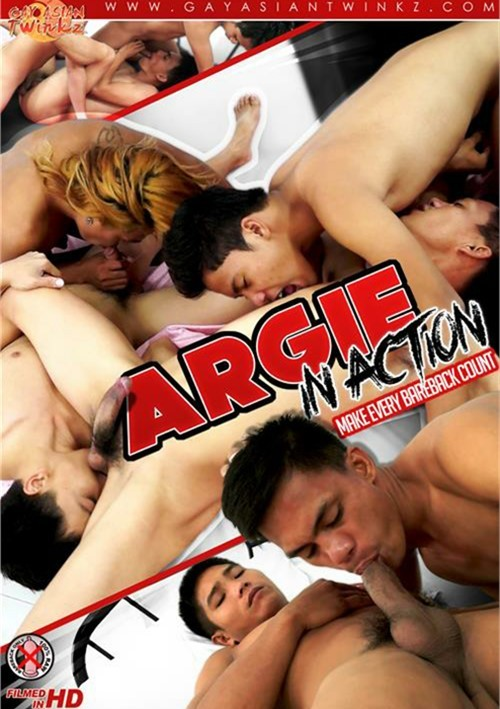 Argie in Action Cover