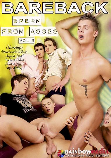 [Gay] Bareback Sperm from Asses 2