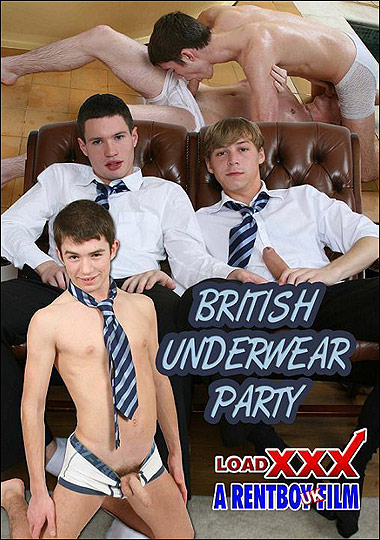 [Gay] British Underwear Party 1