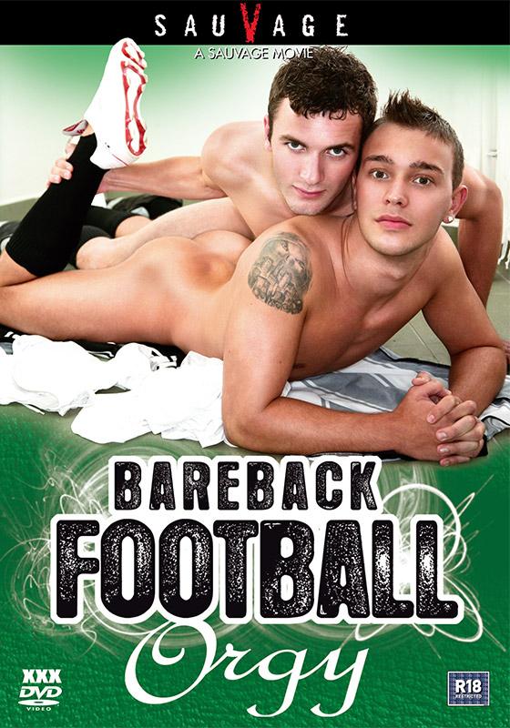 [Gay] Bareback Football Orgy