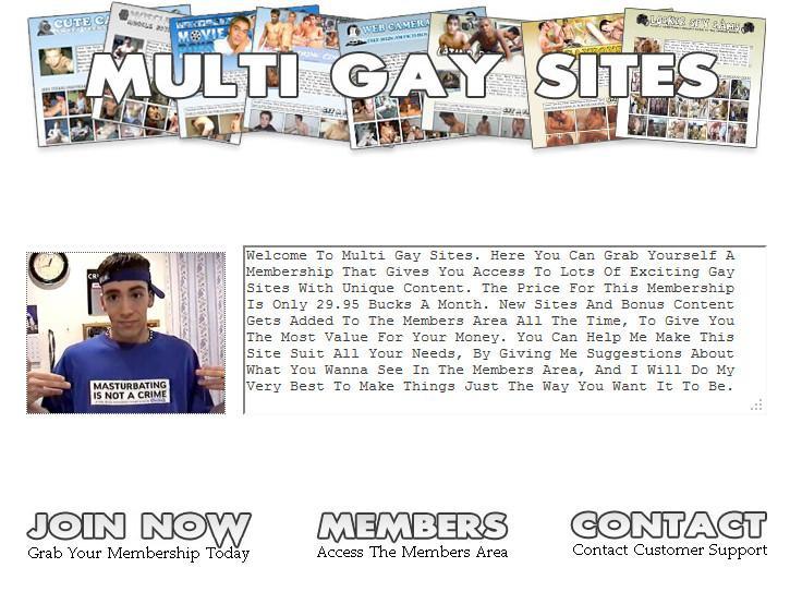 MultiGaySites.com Complete SiteRip Cover