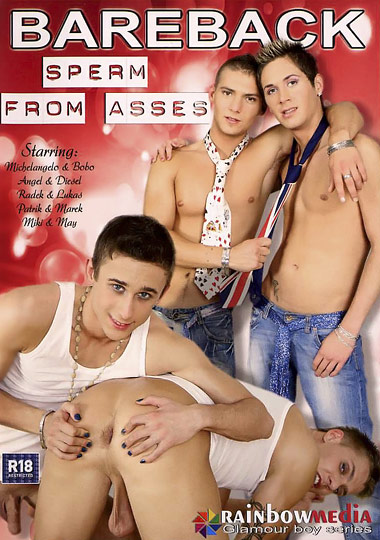[Gay] Bareback Sperm from Asses 1