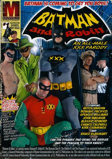 [Gay] Batman And Robin – An All-Male XXX Parody
