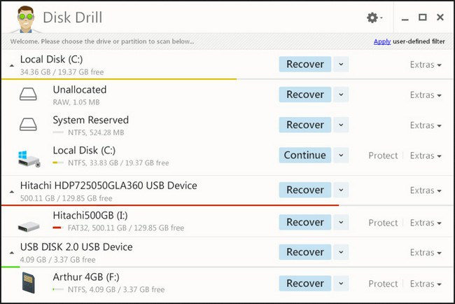 Disk Drill Professional 2.0.0.268 [Multilingual][UL+]